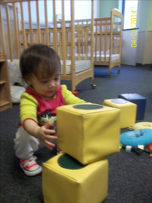 Our toddler program provides the building blocks for a lifetime love of learning.