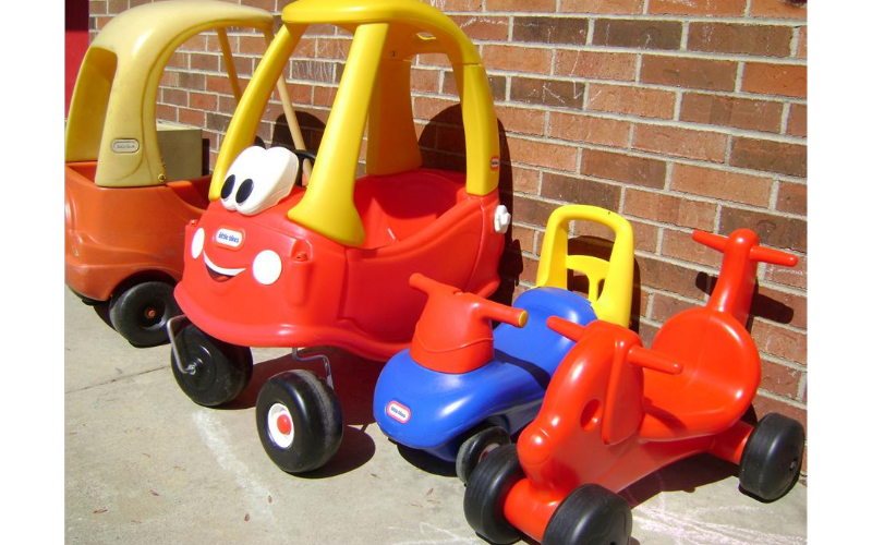 Tons of Cars for the Toddlers