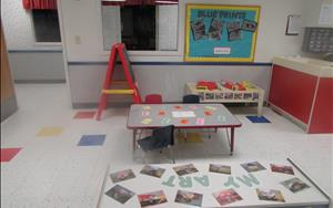 Toddler Classroom-sensory and creative arts