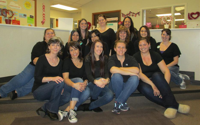 The Lexington Hills KinderCare staff at a Professional Development Day 2014.