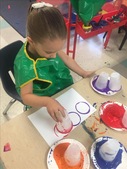 Learning about shapes and colors