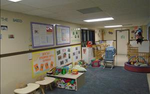Our infant class is warm and welcoming.  We try everyday to give your infant a home away from home!