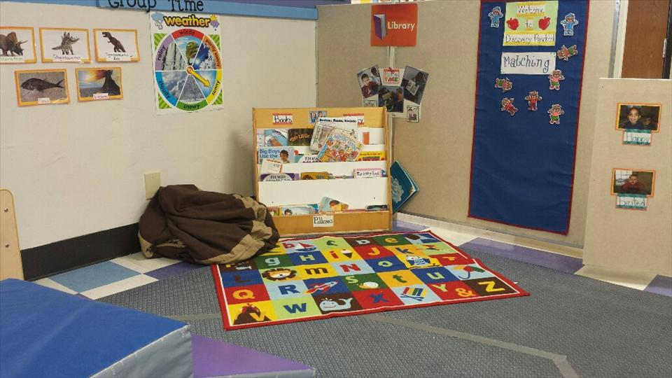 Discovery Preschool library center