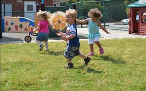 Outside time music and movement.