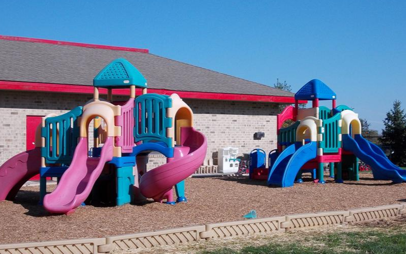 Preschool, Prekindergarten and Kindergarten Playground