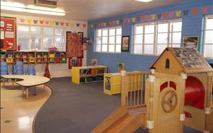 Toddler Classroom: Warm and fun, all in one.