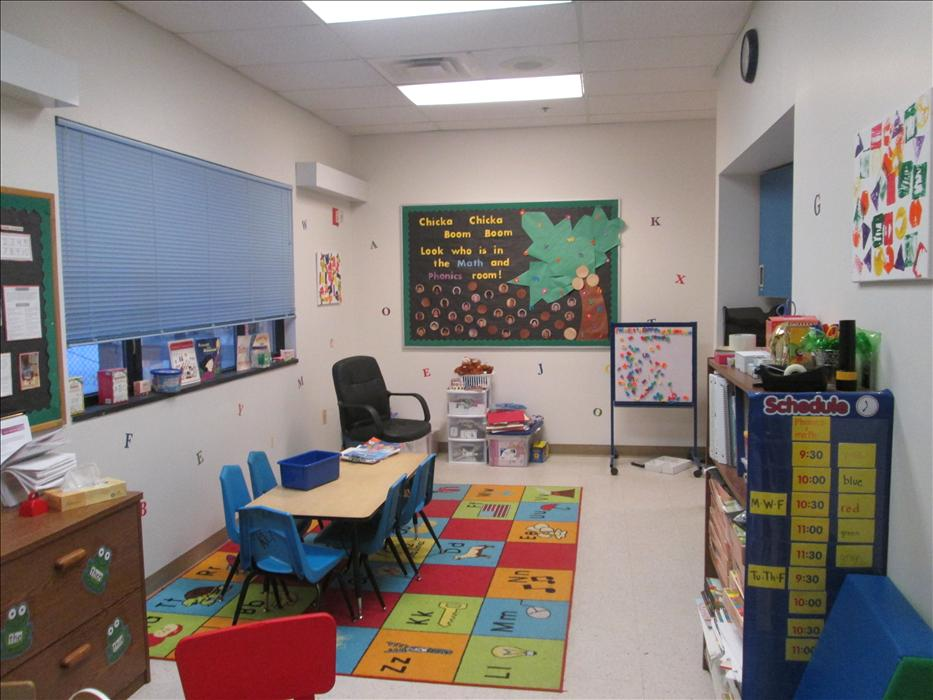 We have a state of the art tutorial room where your child can partcipate in additional phonics and math support.