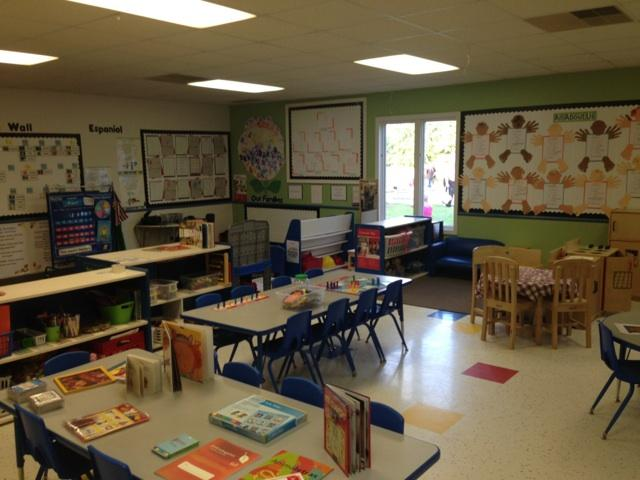 Pre-K ready for educating the parents on our fall curriculum