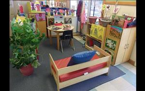 Prekindergarten dramatic play area