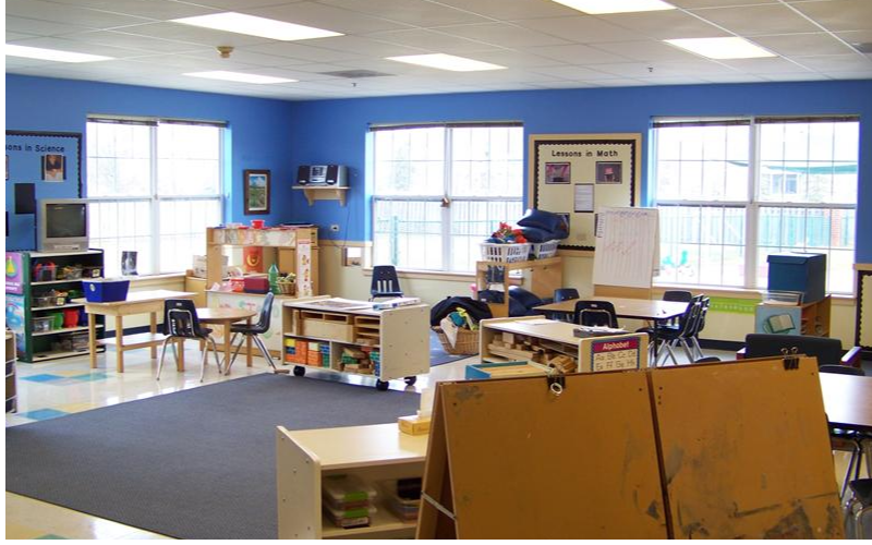 Our Before and After school program is offered in this classroom, as well as our full-time break schedules for Westfield-Washington Schools.