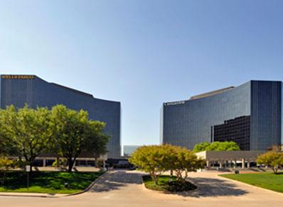 We are located in the Granite Towers West building on the corner of Spectrum and The Dallas North Tollway.