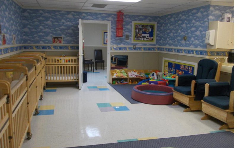 Infant 2 Classroom (6 weeks to 7 months)