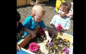Take it outdoor activities are a great way to spark a toddlers young mind!!