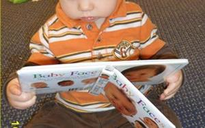 Developing a love of reading happens at our youngest of ages.