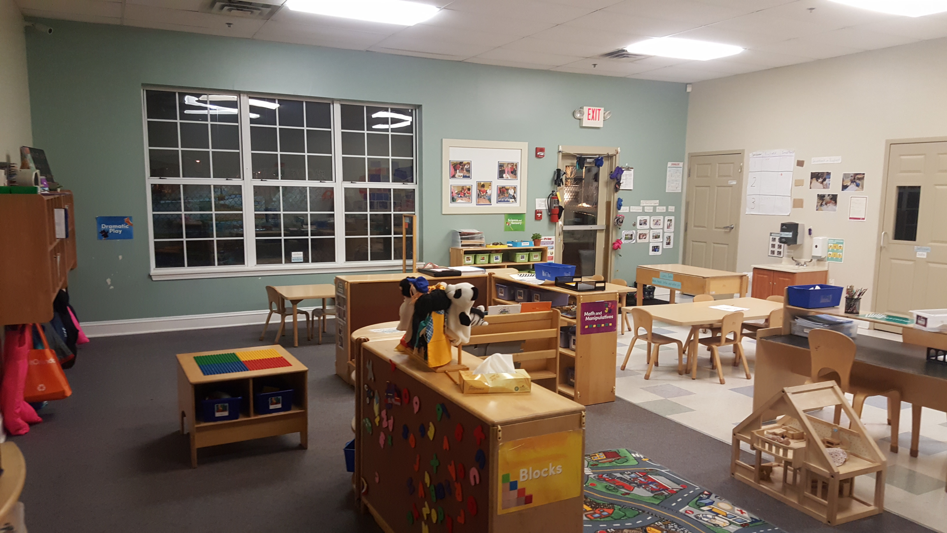 This is our Pre-K Prep classroom.