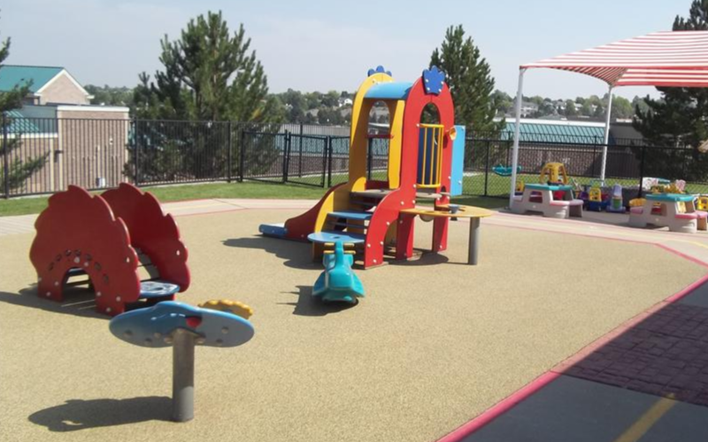 Toddler and Two-Year-Old Playground