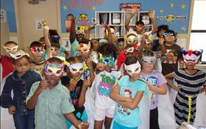 Super Hero Day in the School Age Classroom!