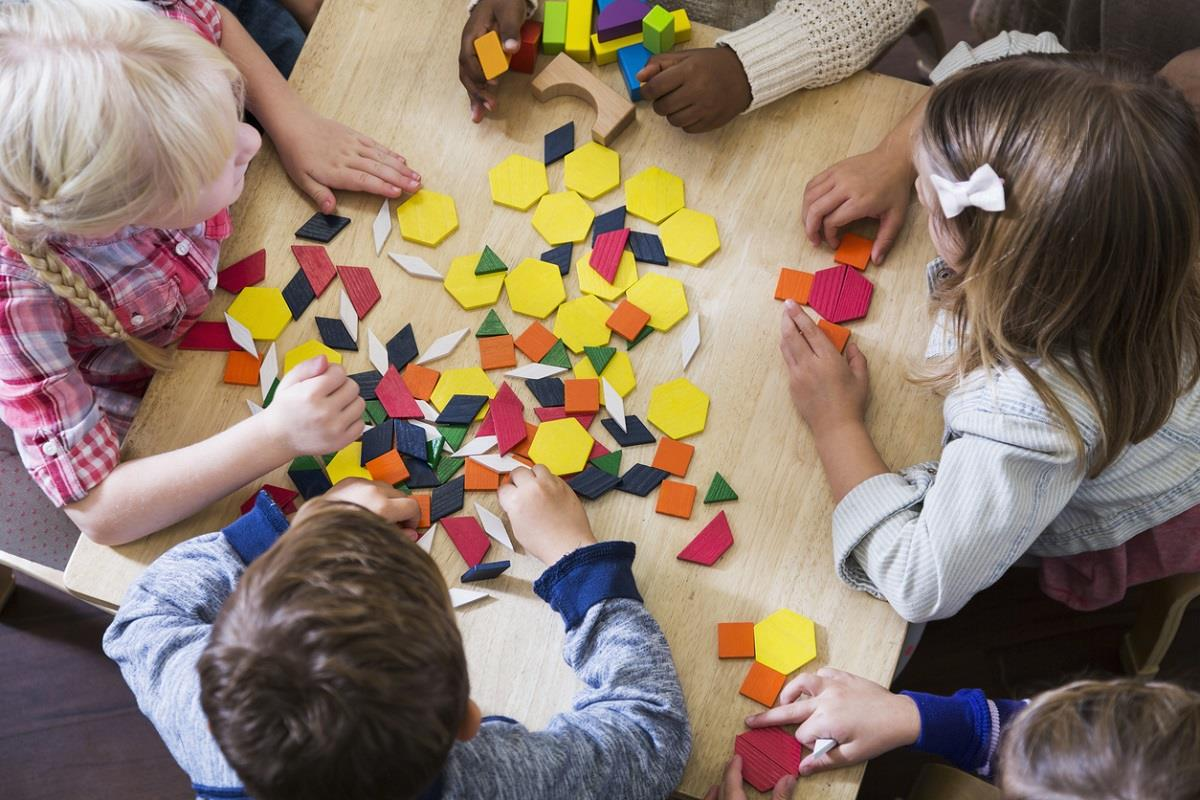 Squares All Around Our Fun Pattern Activities Teach Kids To Color Block