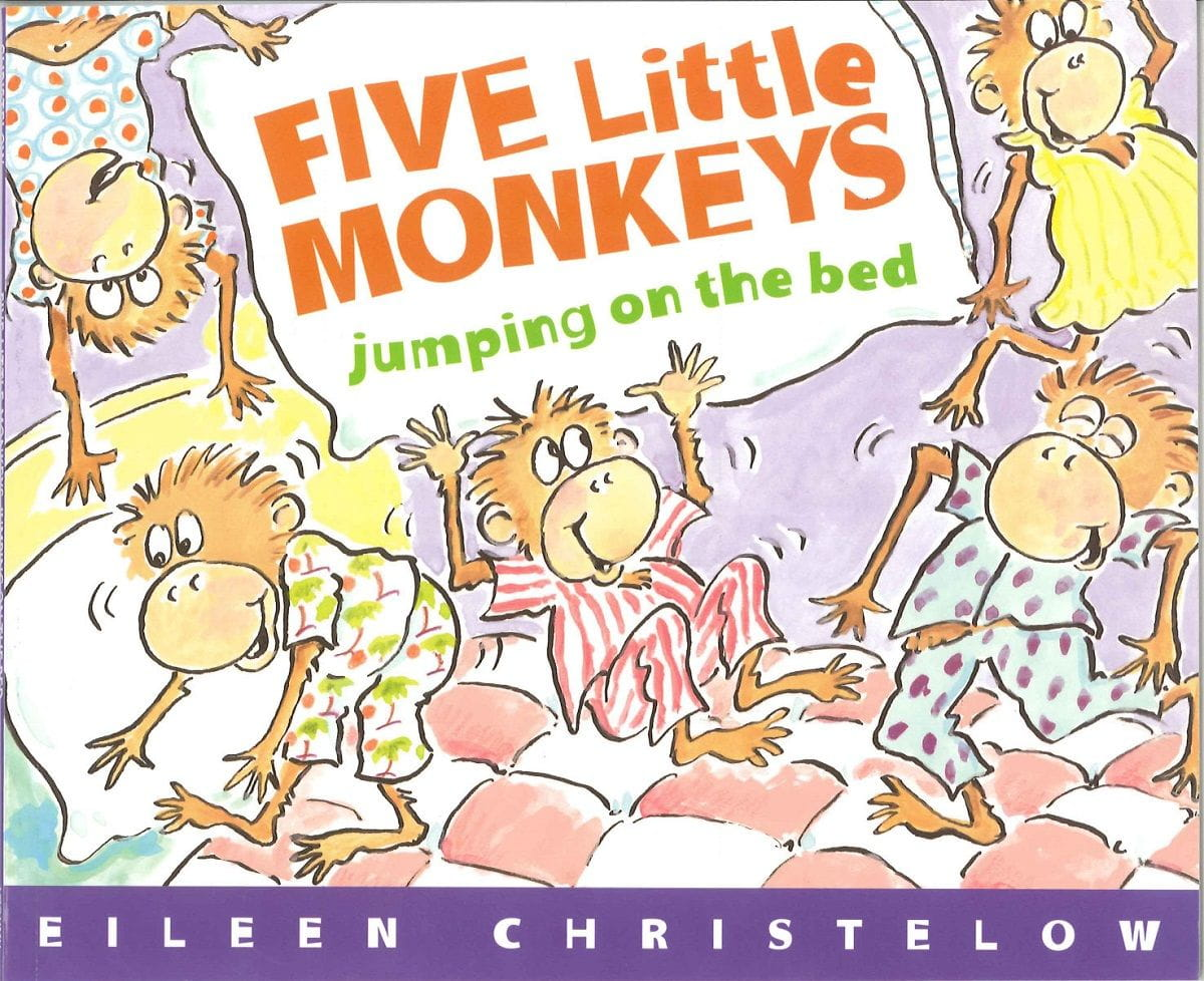 5 Little Monkeys cover