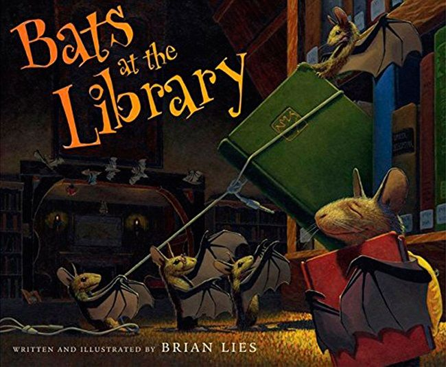 Bats at the Library cover