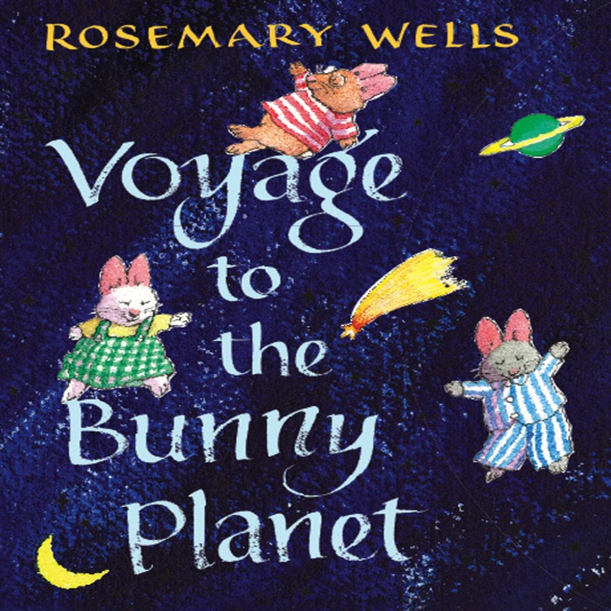 Voyage to the Bunny Planet cover