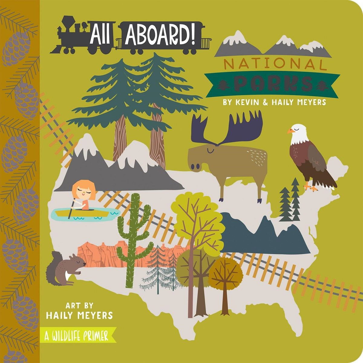 All Aboard National Parks cover