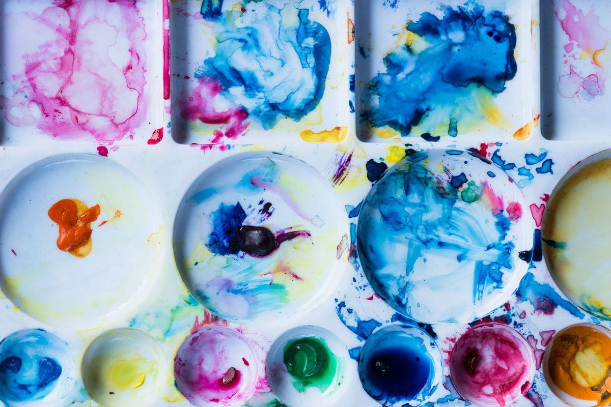 Art Infused With Stem Learning Activities Makes For A Colorful Time