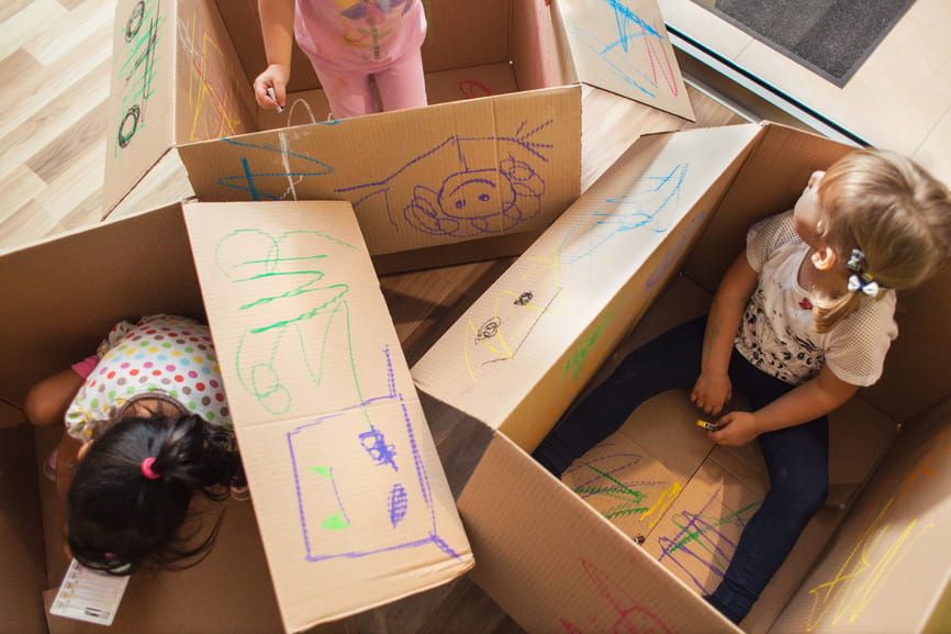 8 Great Things To Make With A Cardboard Box