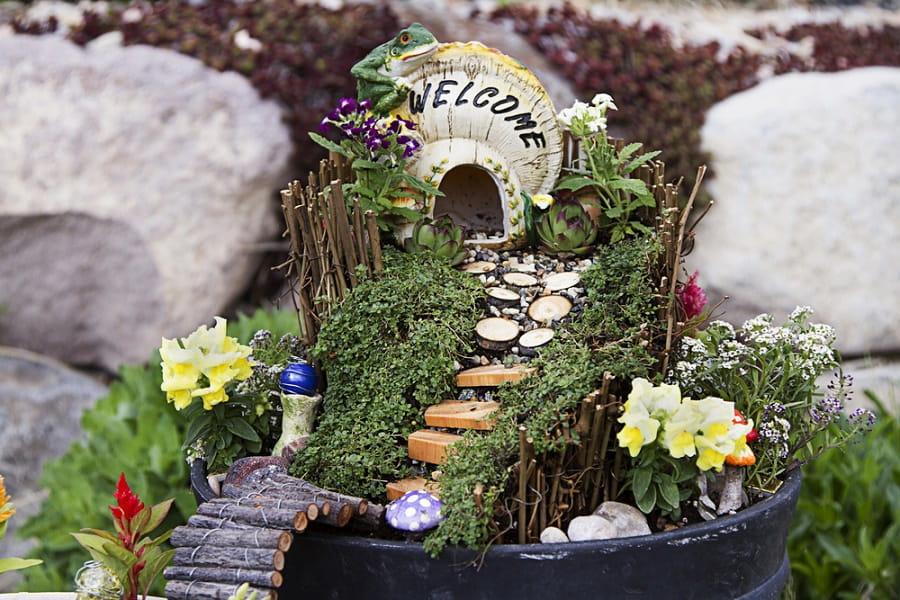 Childrens Fairy Garden Ideas 4