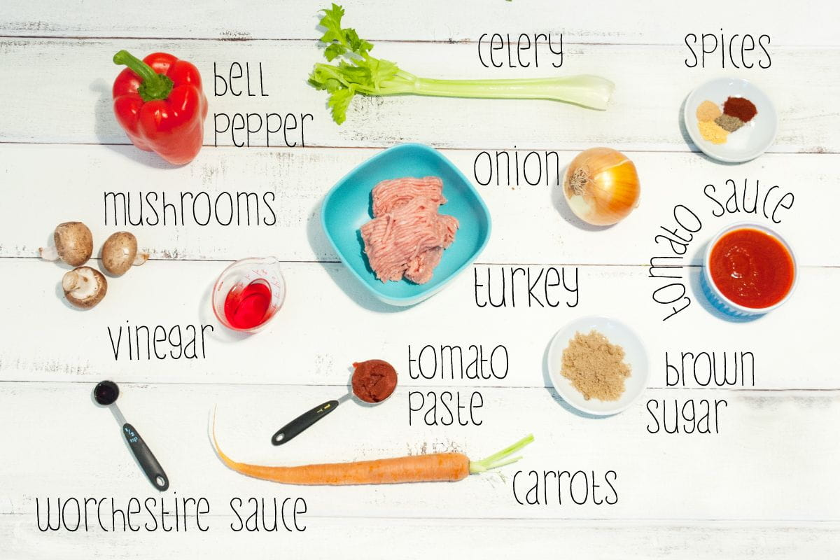 sloppy joes ingredients