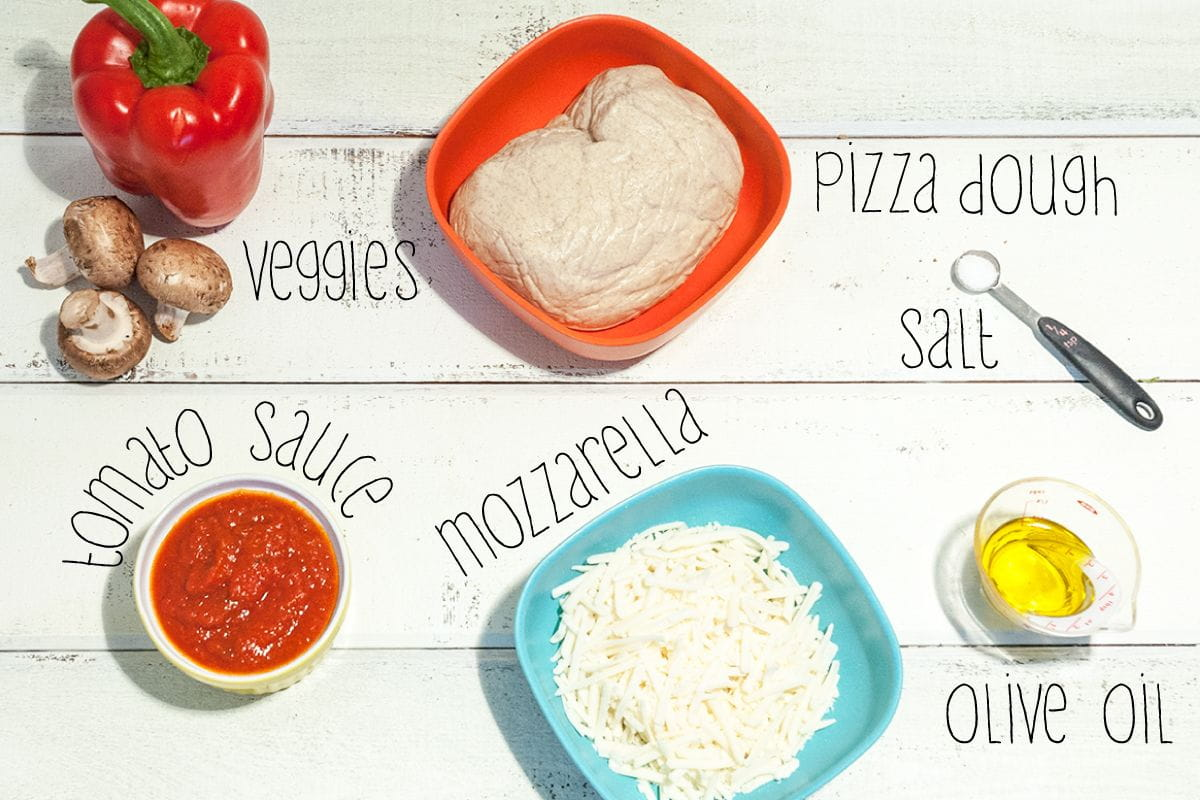 ingredients for pizza poppers