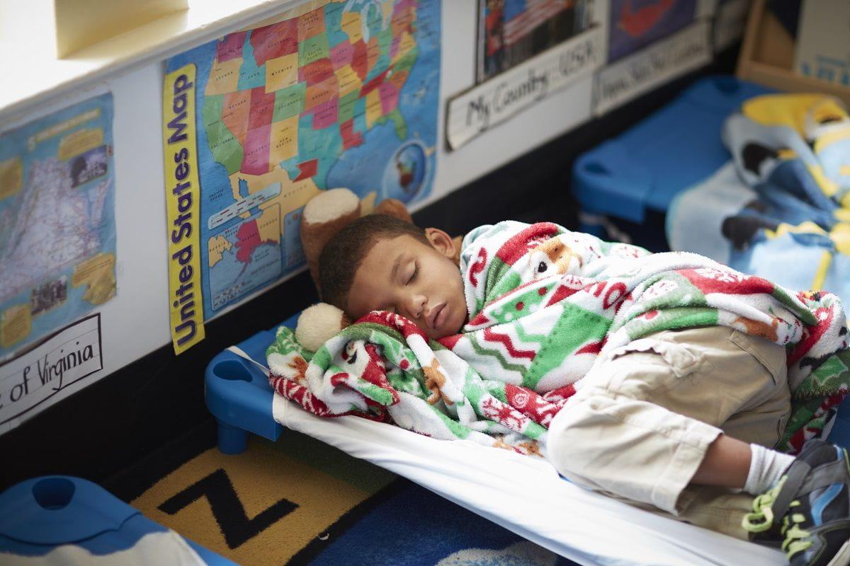 Sleep Well! 10 Ways We Help Kids Get a Great Daycare Nap